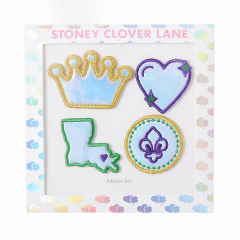 Stoney Clover Mardi Gras Patch Set