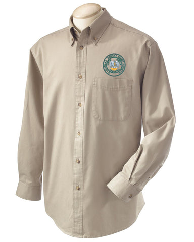 District Court Judges Men's Woven Shirt with Pocket