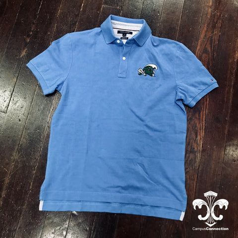 Angry Wave Tommy Hilfiger Pique Polo - Regatta Blue