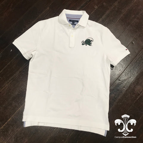 Angry Wave Tommy Hilfiger Pique Polo - White