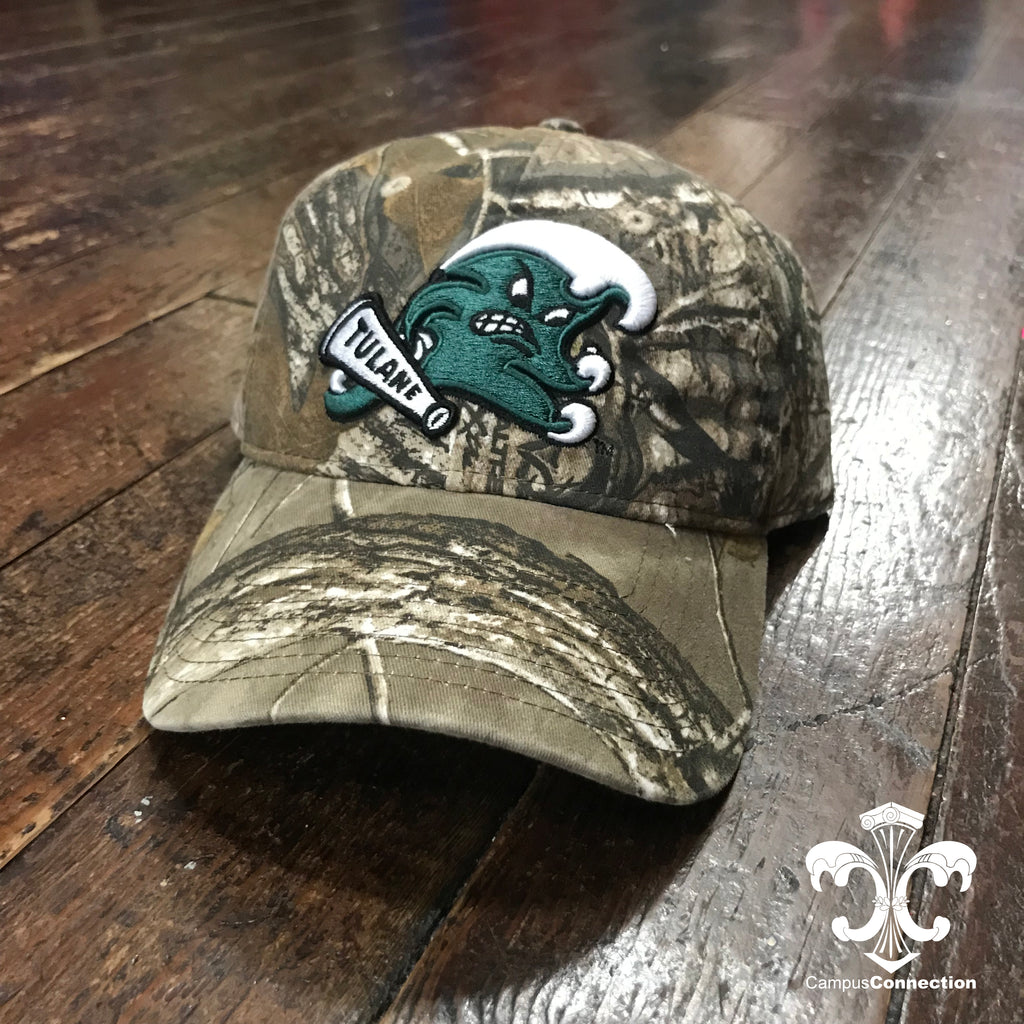Tulane Angry Wave Camo Hat