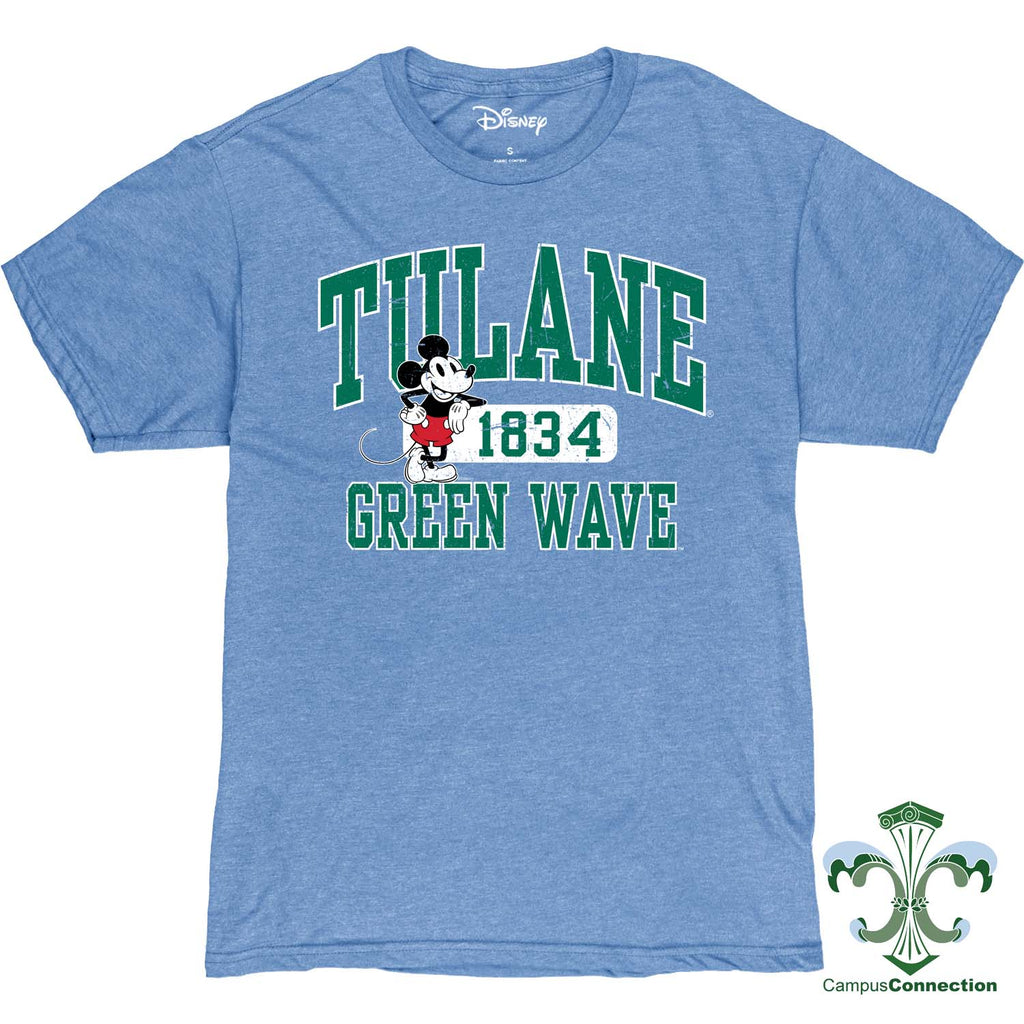 Tulane Mickey Mouse Disney T-Shirt - Men's