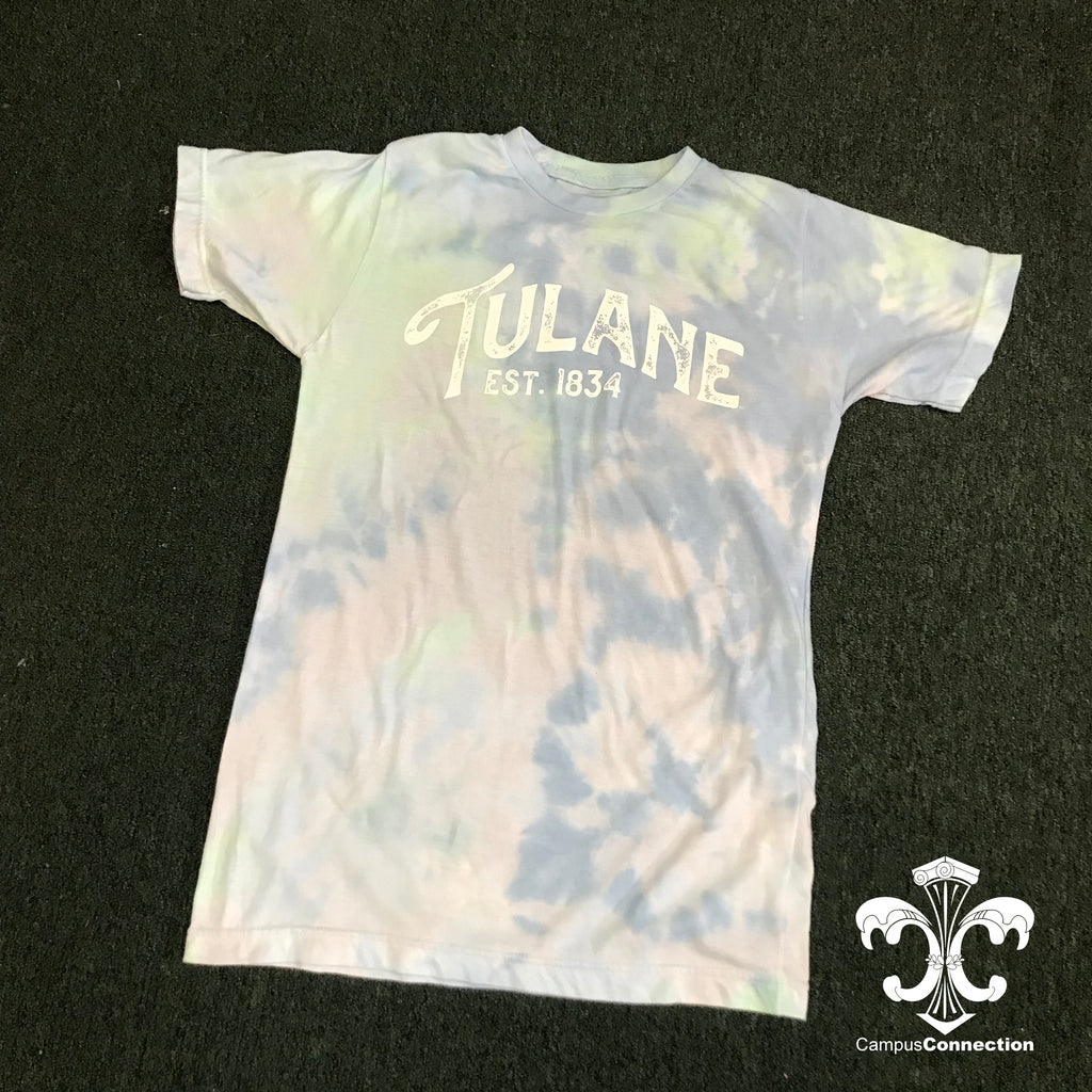 Tulane Dream Tie Dye Shirt