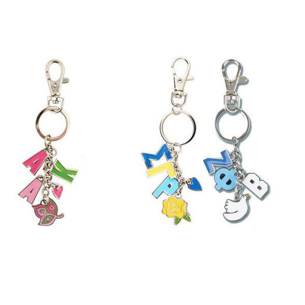 Divine 9 Sorority Charm Keychain - Alexandra and Co. - Campus Connection - 1