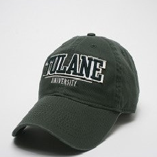Tulane Bar Hat Green - Legacy - Campus Connection