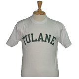 Basic Tulane T-Shirt White - Champion - Campus Connection