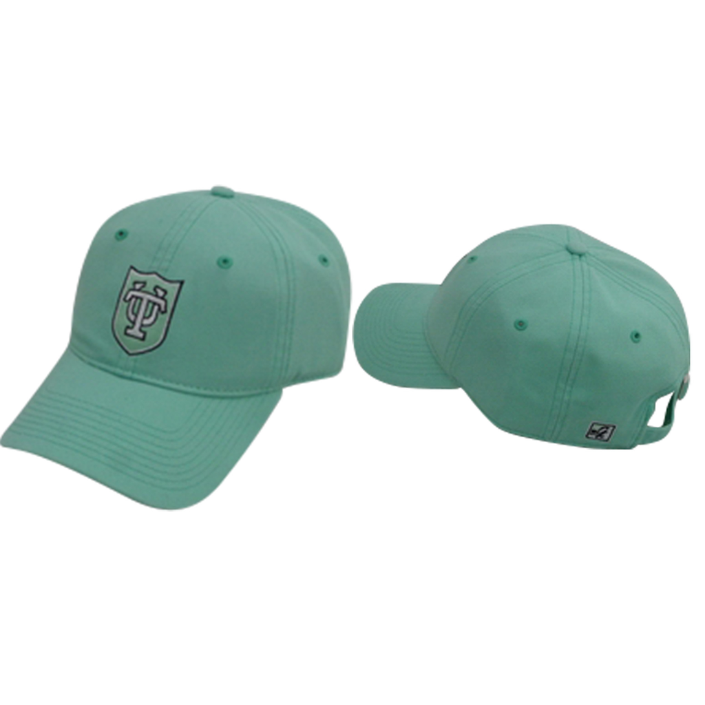 Tulane Shield Hat Mint - The Game - Campus Connection