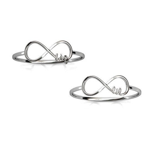 Big and Little Infinity Ring