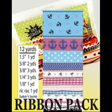 Sorority Ribbon Pack - DIY Greek - Campus Connection - 1
