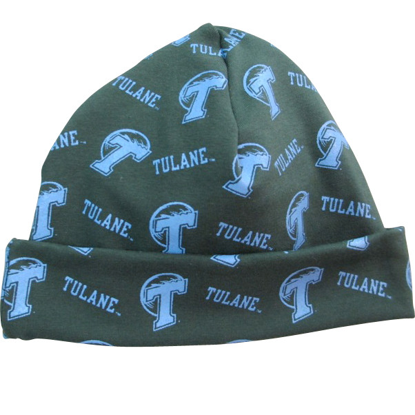 Tulane Infant Warming Cap - Third Street - Campus Connection