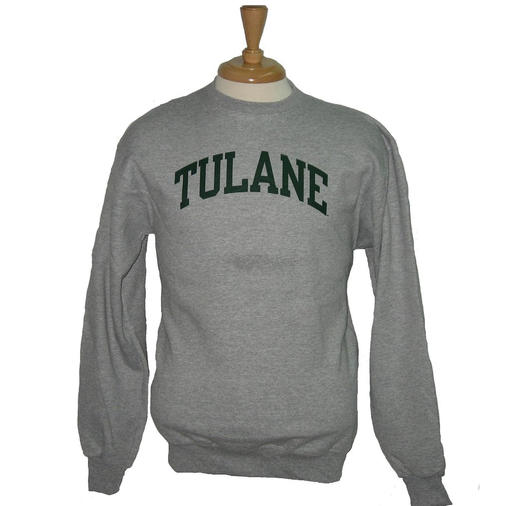 Youth Tulane Crewneck Sweatshirt - Champion - Campus Connection