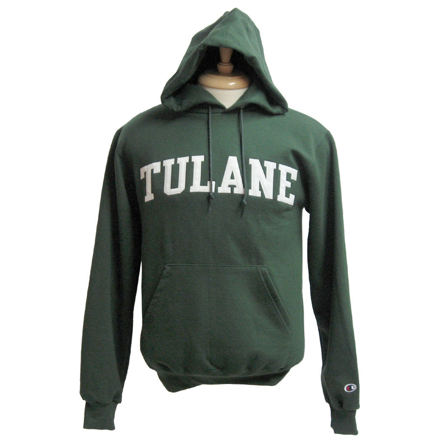 Youth Tulane Hooded Sweatshirt - Champion - Campus Connection
