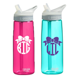 Big or Little Bow Monogram Camelbak Water Bottle - Camelbak - Campus Connection - 1