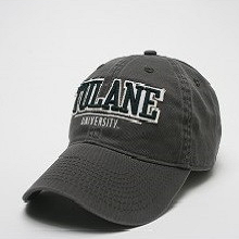 Tulane Bar Hat Gray - Legacy - Campus Connection