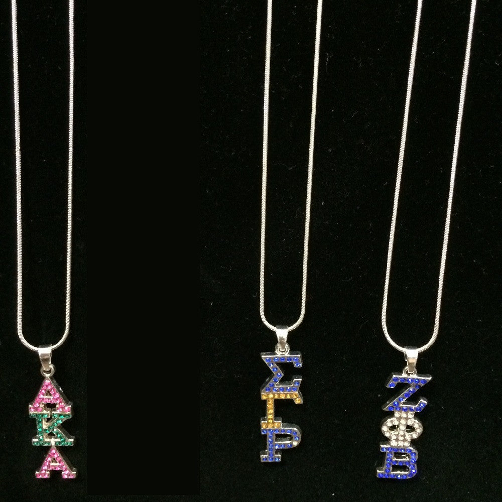 Rhinestone Necklace - National Sportswear - Campus Connection