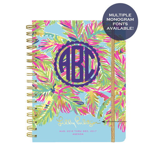 Lilly Pulitzer Large 2016-2017 Agenda - Island Time