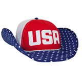 USA Cowboy Trucker Hat - Cowbucker - Campus Connection - 1