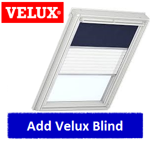 Velux ggl ck01 2060 white painted centre pivot window 55 for Outlet velux
