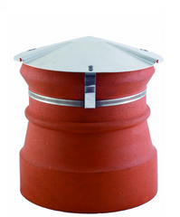 Brewer Chimney Capper Metal Chimney Cowl - Round