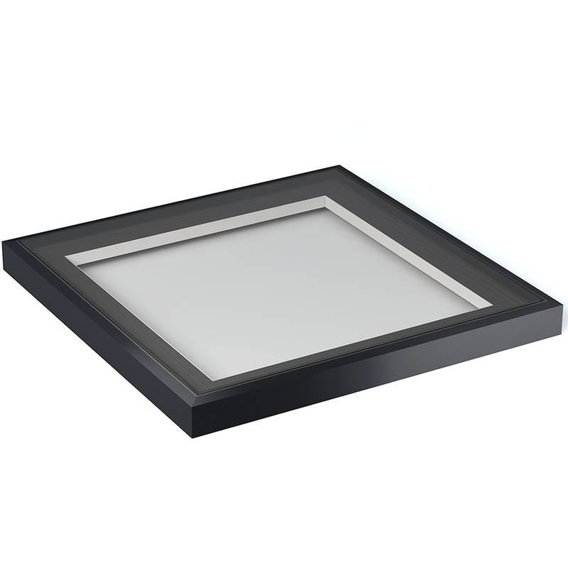 Atlas Fixed Flat Glass Rooflight - 1000mm x 1000mm