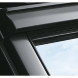 VELUX GGU UK08 0070 White Polyurethane Centre-Pivot Roof Window (134 x 140 cm)