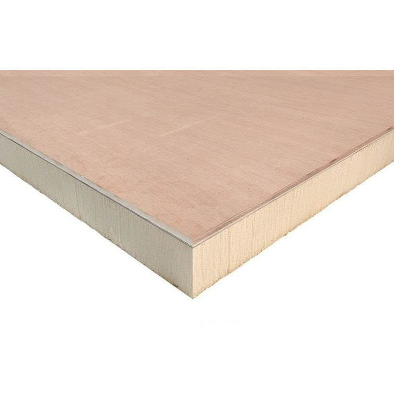 Ecotherm Eco-Deck Insulated Decking Board  - 96mm (90mm + 6mm PLY)