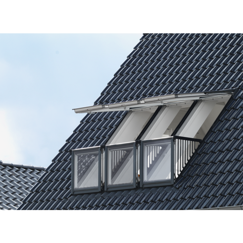 Velux Gdl Sk19 Sk0w322 White Painted Cabrio Balcony 362 X 252 Cm