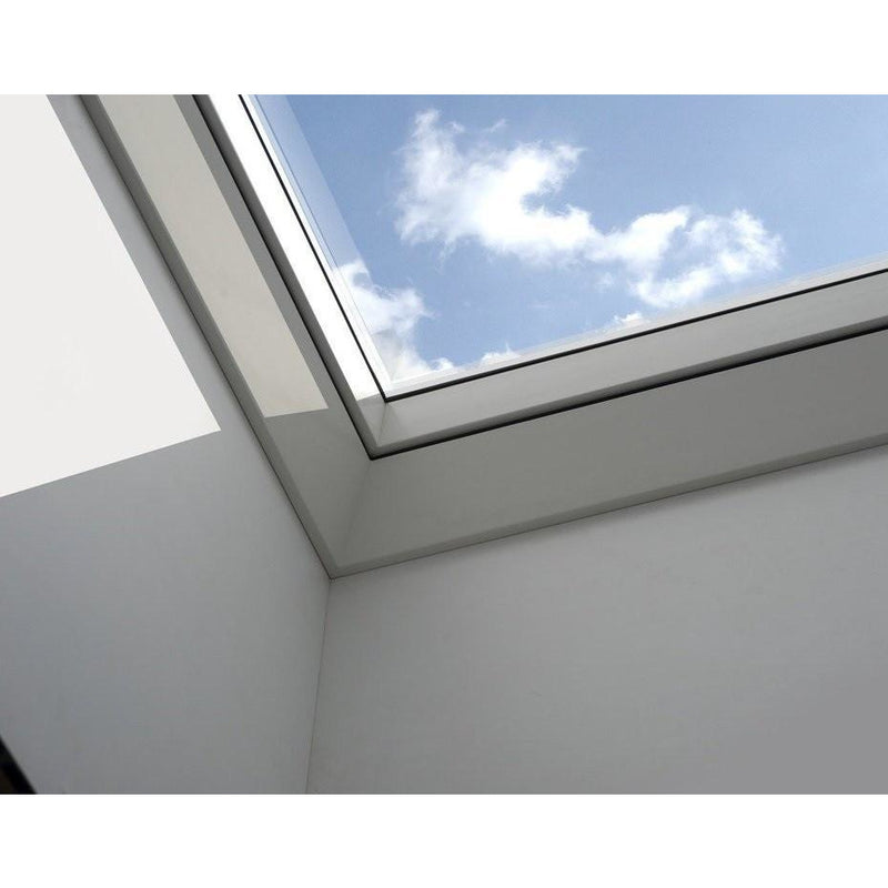 VELUX CVP 100100 S06G INTEGRA® Electric Opening Clear Flat Roof Window (100 x 100 cm)