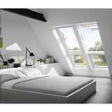 VELUX GPU CK06 0070 White Polyurethane Top-Hung Window (55 x 118 cm)
