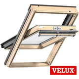 VELUX GGL UK10 3066 Triple Glazed Pine Centre-Pivot Roof Window (134 x 160 cm)