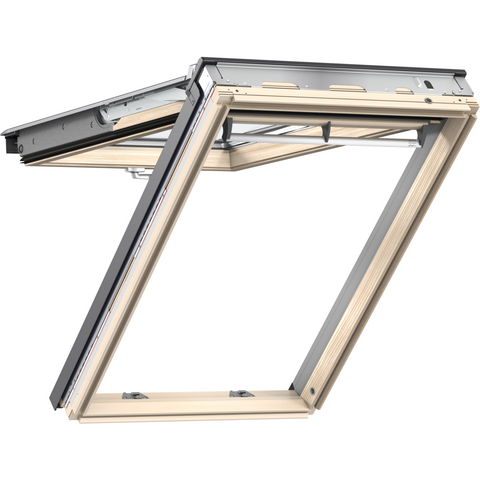Velux gpl uk04 3070 pine top hung window roofing outlet for Outlet velux