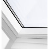 VELUX GGU UK04 0070 White Polyurethane Centre-Pivot Roof Window (134 x 98 cm)