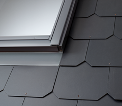 VELUX EDL 2000 Flashings - for use with Slates up to 8mm thick (Including Insulation & Underfelt collars)