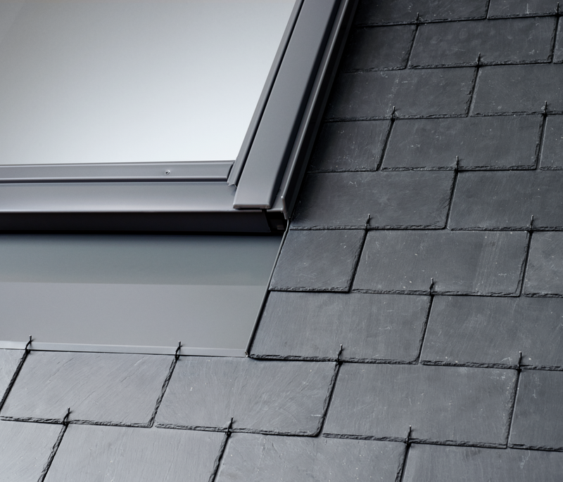 VELUX EDN 0000 Flashings - Recessed installation in slate up to 8mm thick