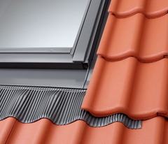 VELUX EDW PK04 S0121 for Sloping and Fixed Combinations - Tiles up to 120mm in profile