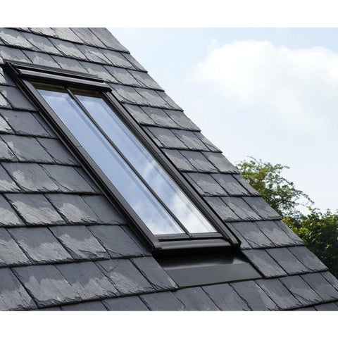 velux ggl ck04 sd5n2 white painted centre pivot conservation window roofing outlet. Black Bedroom Furniture Sets. Home Design Ideas