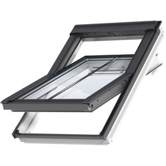 VELUX GGL CK04 SD5P2 White Painted Conservation Window for Plain Tiles (55 x 98 cm)