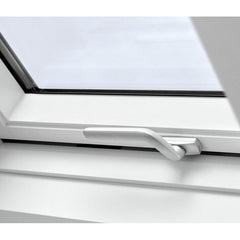 VELUX GPU SK08 0062 Triple Glazed & Noise Reduction White Top-Hung Roof Window (114 x 140 cm)