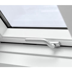 VELUX GPU CK04 0070 White Polyurethane Top-Hung Window (55 x 98 cm)