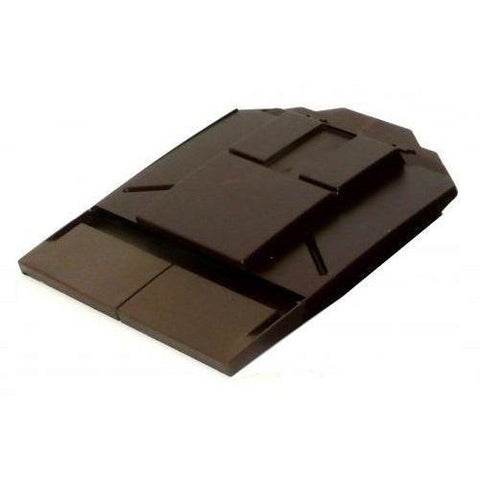 Ubbink UB8 Plain Tile Vent - Sepia (Brown)