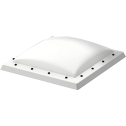 VELUX ISD 060060 0110A Obscure Polycarbonate Dome Cover 60 x 60 cm