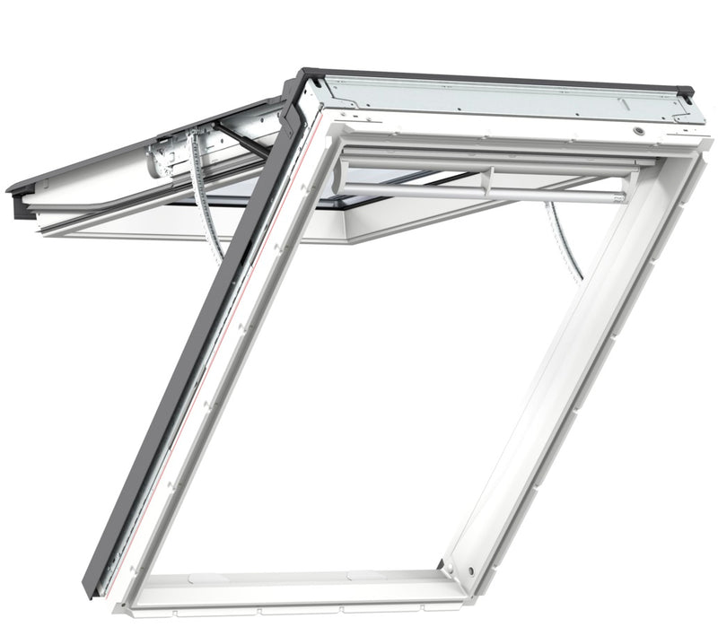 VELUX GPU White Polyurethane Top Hung INTEGRA® Electric Windows
