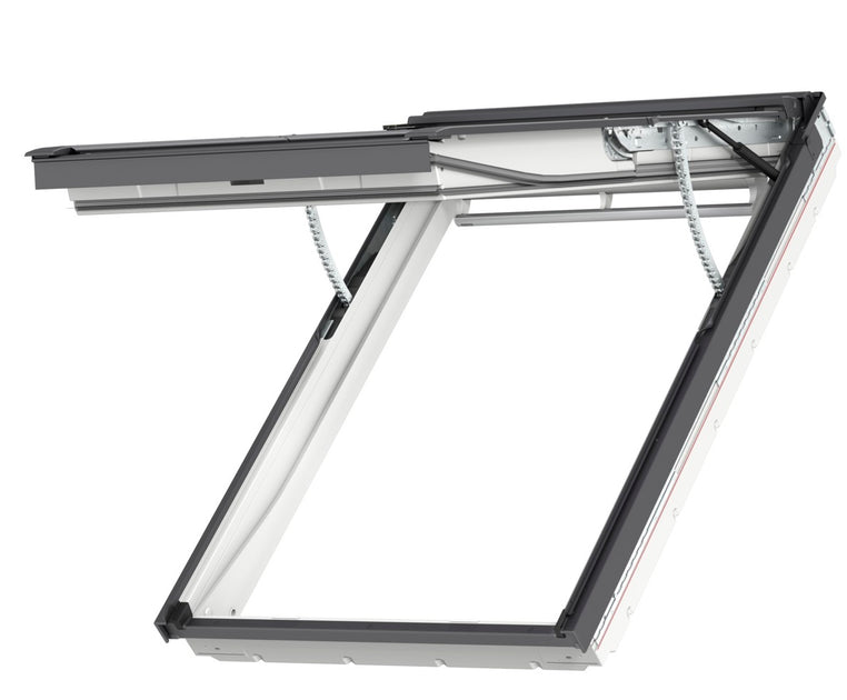 velux gpu fk06 007021u top hung integra electric window 66 x 118 cm roofing outlet