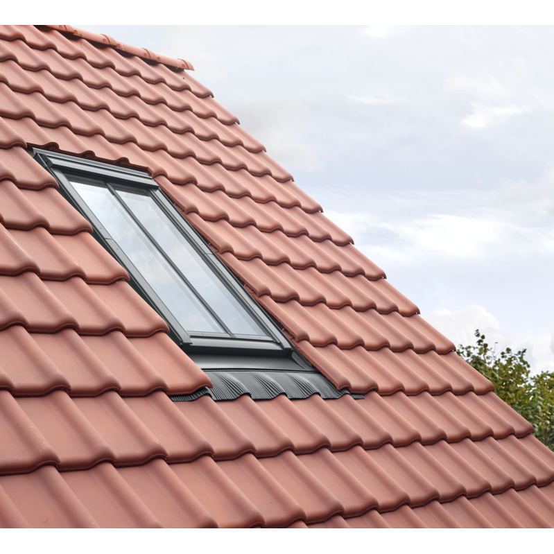 VELUX GGL CK06 SD5J2 White Painted Conservation Window for Tiles (55 x 118 cm)