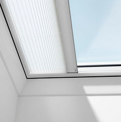 VELUX FMK Electric Light Dimming Energy Pleated Blinds