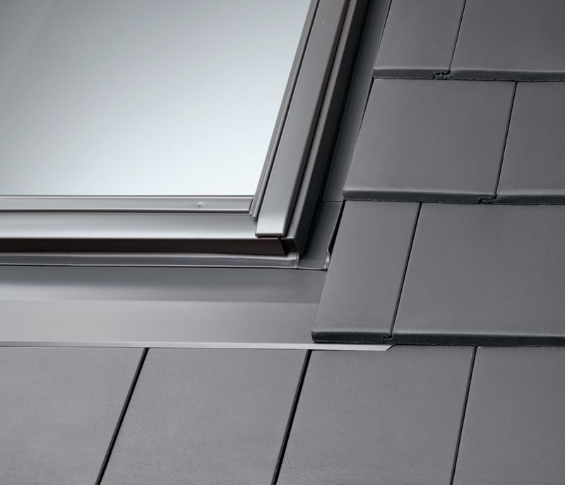 VELUX EDT 2000 Flashings - For Flat Interlocking Tiles (Including Insulation & Underfelt collars)