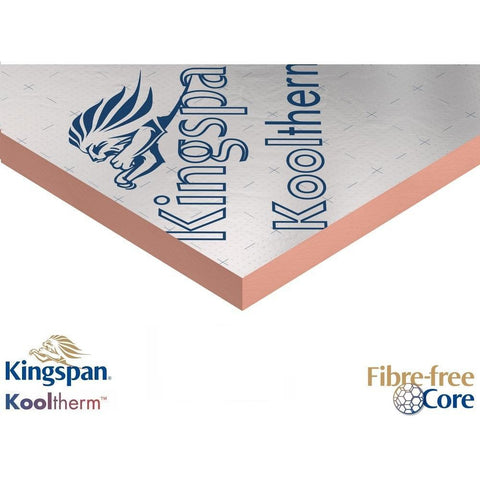 Kingspan Kooltherm K15 Rainscreen Cladding Insulation - 2400 x 1200mm
