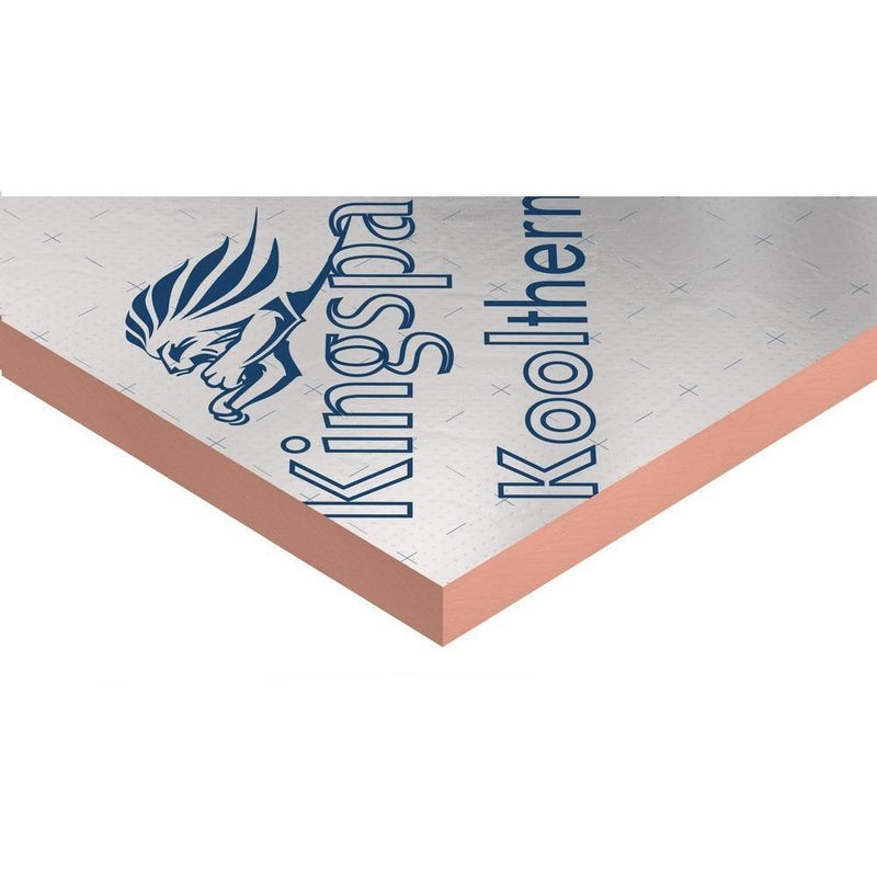 Kingspan Kooltherm K107 Pitched Roof Insulation Board - 1200 x 2400mm