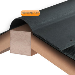 Corrapol-BT Corrugated Bitumen Ridge 1000mm - Black