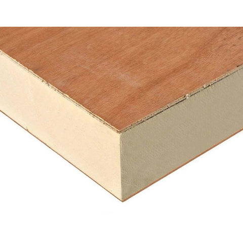 Warmline Insulated Decking Board 126mm 120mm 6mm Ply